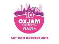 Oxjam Glasgow Music Festival - Volunteer Opportunities