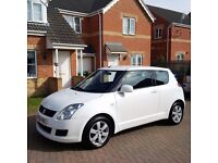 SUZUKI SWIFT 1.5 GLX, MOT 12 MONTHS, FULL SERVICE HISTORY, COLOUR WHITE