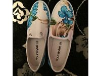 Brand new womens slip on shoes