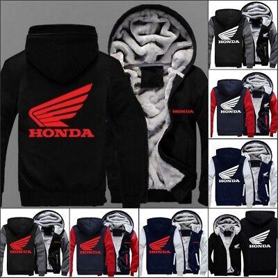 Winter New coat Honda baseball clothing cashmere thickening warm sweater jacket
