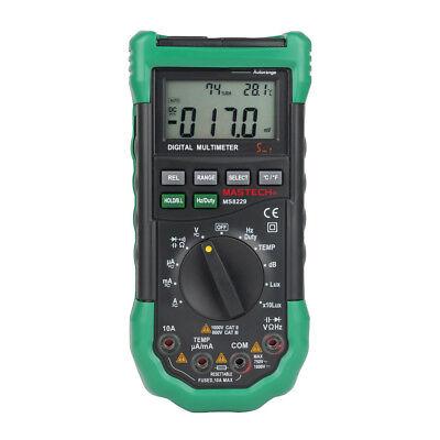 Mastech Ms8229 5-in-1 Auto-range Multi-functional Digital Multimeter Meter Us
