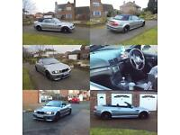 2003 BMW M3 CONVERTIBLE SMG 360BHP REMAP NEW CSL WHEELS FSH DRIVES AND LOOKS EXCELLENT
