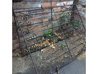 Iron gates x2