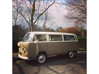 Gorgeous 1968 VW Campervan (and wedding business!) for sale