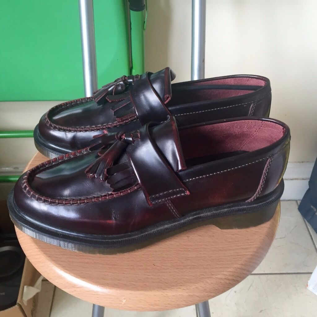 Dr Martens Adrian Arcadia Size 5 Uk Colour Cherry Red In