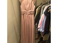 Eliza J Blush Pink Dress - Worn Once!