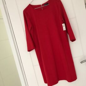 Red gap dress brand new with tags