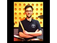 Hertfordshire Drum Lessons - Professional Drummer and Studios in Hertford