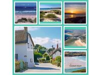 HOLIDAY LET CARAVAN SAT-SAT MARCH BREAKS all weeks NEWQUAY CORNWALL beautiful scenic area LOTS TO DO