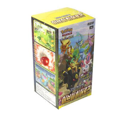 [US BUYER] Pokemon Card Enhanced Expansion booster Eevee Heroes 1Box Korean Ver.
