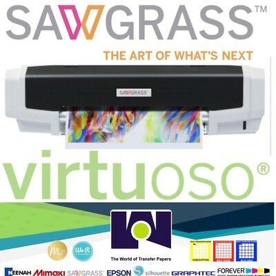 Sawgrass Virtuoso Vj628 Printer Installation Kit No Ink Free Shipping