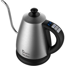 Electric Kettle with Preset Variable Heat Settings, Stainless Steel Auto Shut-off Keep Warm Function