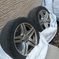Michelins with rims