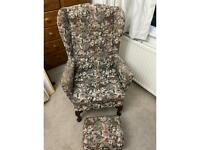 FREE armchair and foot stall