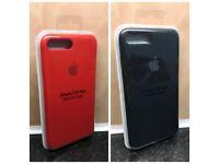 Brand NEW Genuine Apple iPhone 7 plus , 8 plus Silicone Case