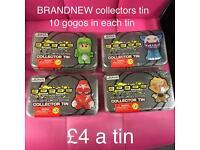 Brandnew Gogo collectors tin