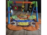 play mat + baby gym