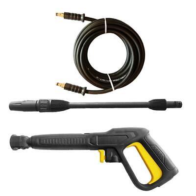 6m Pressure Washer Hose Water Spray Gun Turbo Nozzle Set For Karcher K1-k7