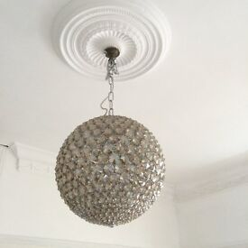 Large Globe Light Fitting