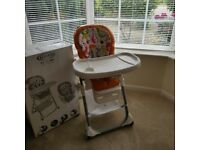 Graco Duodiner 2-in-1 High Chair Preused