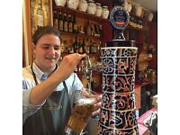Up to £10.50 ph part-time full-time /waiter-waitress. Spanish restaurant