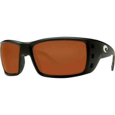 1bbaf8eddf77d New Costa del Mar Permit Polarized Sunglasses Matte Black Copper 580P XL Fit
