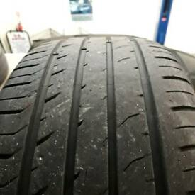 205/45/16 davanti car tyres part worn