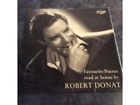 Favourite Poems Read at home by Robert Donat - Vinyl LP 1959