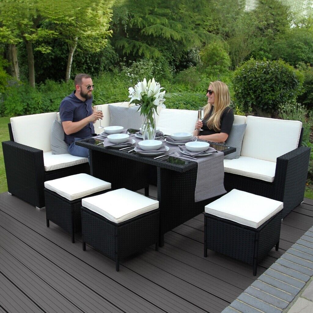 Garden Furniture Sets 4 To Choose From Grey Brown Cube Dining Table Sofa Chairs In Belfast City Centre Gumtree