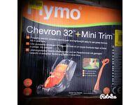 Flymo chevron 32 with mini trim strimmer