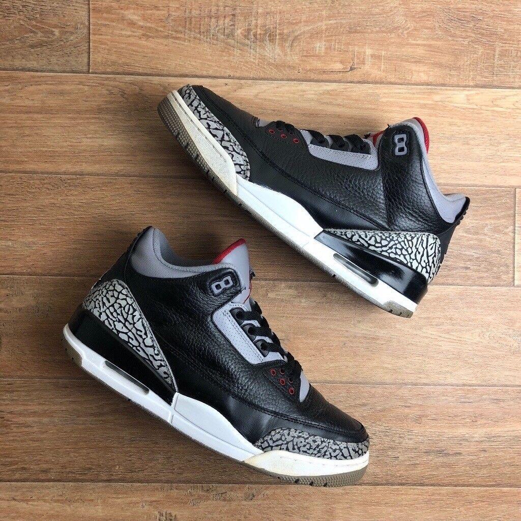 best sneakers 172ac 35ca4 Air Jordan 3 Black Cement | Size 9 | in Walsall, West Midlands | Gumtree