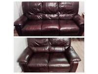 Harvey's recliner sofa suite immaculate can deliver