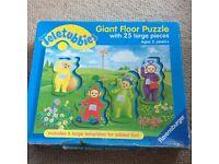 Teletubbies giant floor puzzle 25 piece age 2+