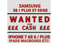 WANTED * IPHONE 7 PLUS 6S 6 5S SE 16GB 32GB 64GB 128GB 256GB UNLOCKED VODAFONE EE O2 THREE UNLOCKED