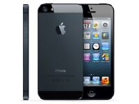 iPhone 5 16GB Black - Unlocked - Fully Functional, One small crack to display