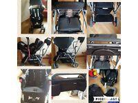 Joovy Caboose Ultralight Double Tandem Single Pushchair Buggy Board