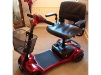 BRITAINNIA MOBILITY SCOOTER - USED 4 TIMES AS NEW