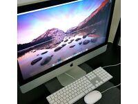 Apple iMac 27-Inch (Mid 2011) Quad Core i5 2.7 GHz, 1TB HDD, Radeon HD 6770M - macOS High Sierra