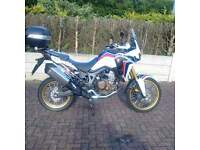 Honda CRF1000l Africa twin, Immaculate condition, 9 month warranty left, very low mileage!