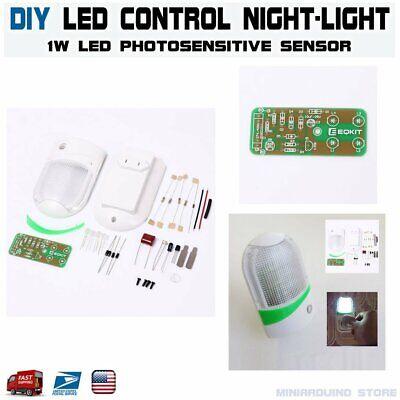 1w Led Light Control Night-light Diy Kit Photosensitive Sensor Con-l Nightlight