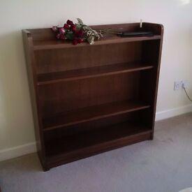 Bookshelf, solid wood, good condition