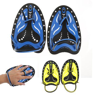 Handpaddel für Schwimmen, Unisex Schwimm Trainingshilfe Hand Paddle,