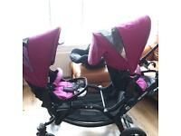 Tandem Double Pushchair