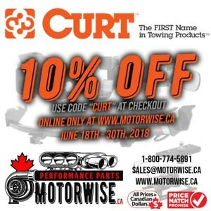 Curt Towing Products | 10% off Until June 30th, 2018 | FREE SHIPPING | Buy and Shop at www.motorwise.ca