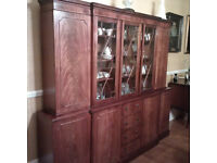 Five Bay Display Cabinet (Collection Only)