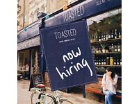 Wine and food enthusiasts wanted, Toasted Wine Bar, Restaurant and Wine Shop in East Dulwich