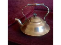 Kettle, copper.