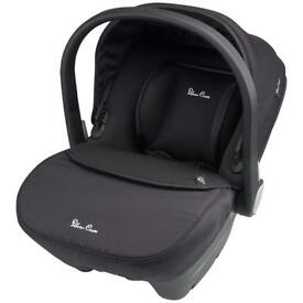 New Silver Cross Simplicity Car seat and Iso Fix Base