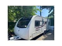 Swift Ace Prestige 6 Berth Caravan - Huge Spec