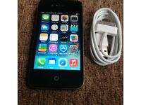 Apple iPhone 4 8gb White/Black UNLOCKED